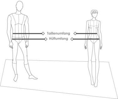 Nehmen Sie ein Maßband und messen Sie Ihren Körperumfang, also die Hüfte oder die Taille, je nachdem wie Sie den Gürtel tragen wollen. Führen Sie dafür das Maßband um Ihren Köper herum. Das Ergebnis in cm ist die Bestellgröße. Runden Sie bitte auf 0 oder 5. Beispiel: Sie messen 93 cm. Bestellen Sie 90 cm oder 95 cm. Beides passt.