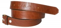 FRONHOFER snap on belt 1.37   (3,5 cm) | strong genuine leather | organic leather