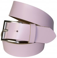 ALL DAY: 100% Leather belt in stylish colors with a classic silver belt buckle 1.5 /4cm